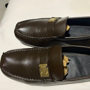 Louis Vuitton Brown Loafers